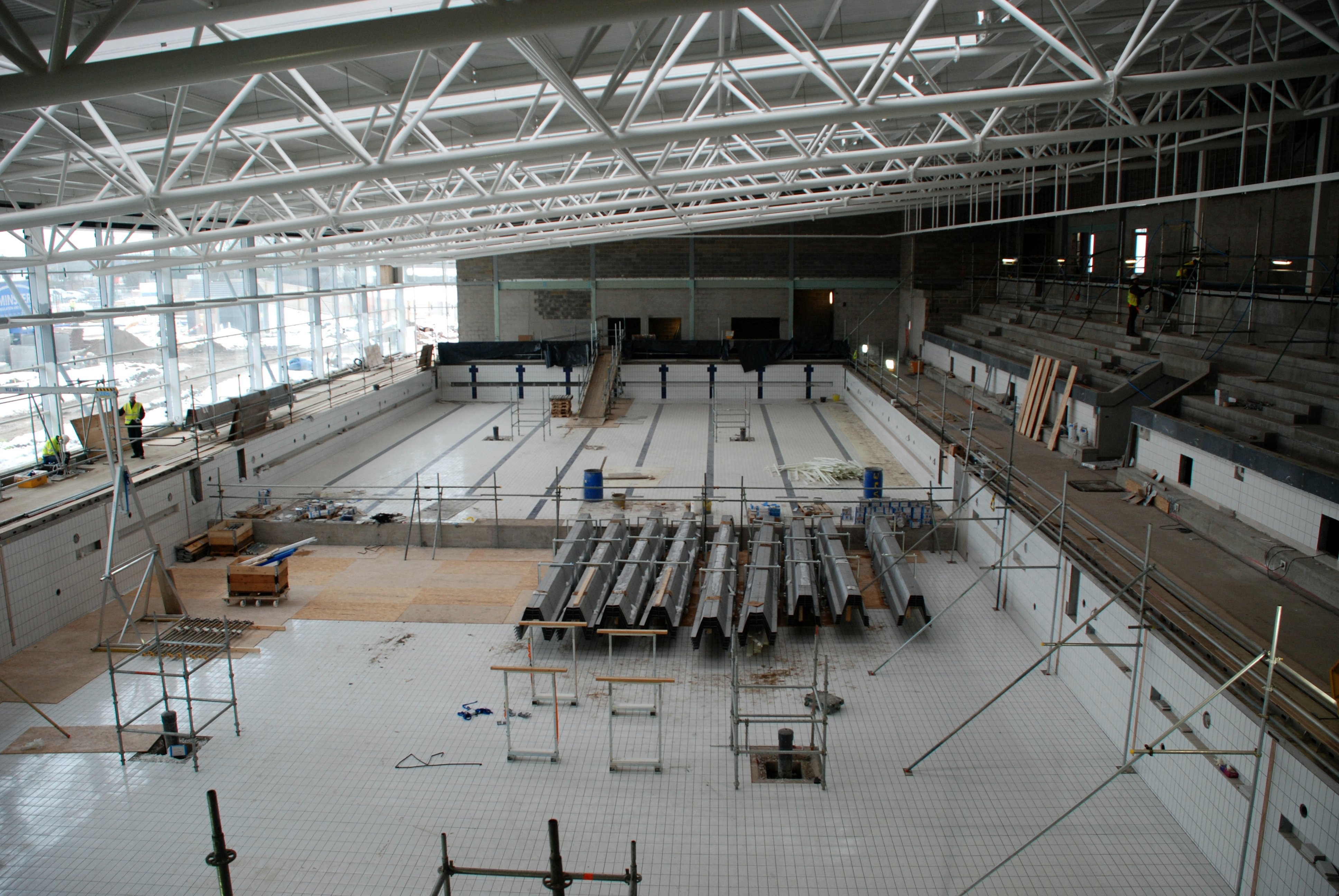 Basildon Council County 39 S First 50 Metre Pool Takes Shape