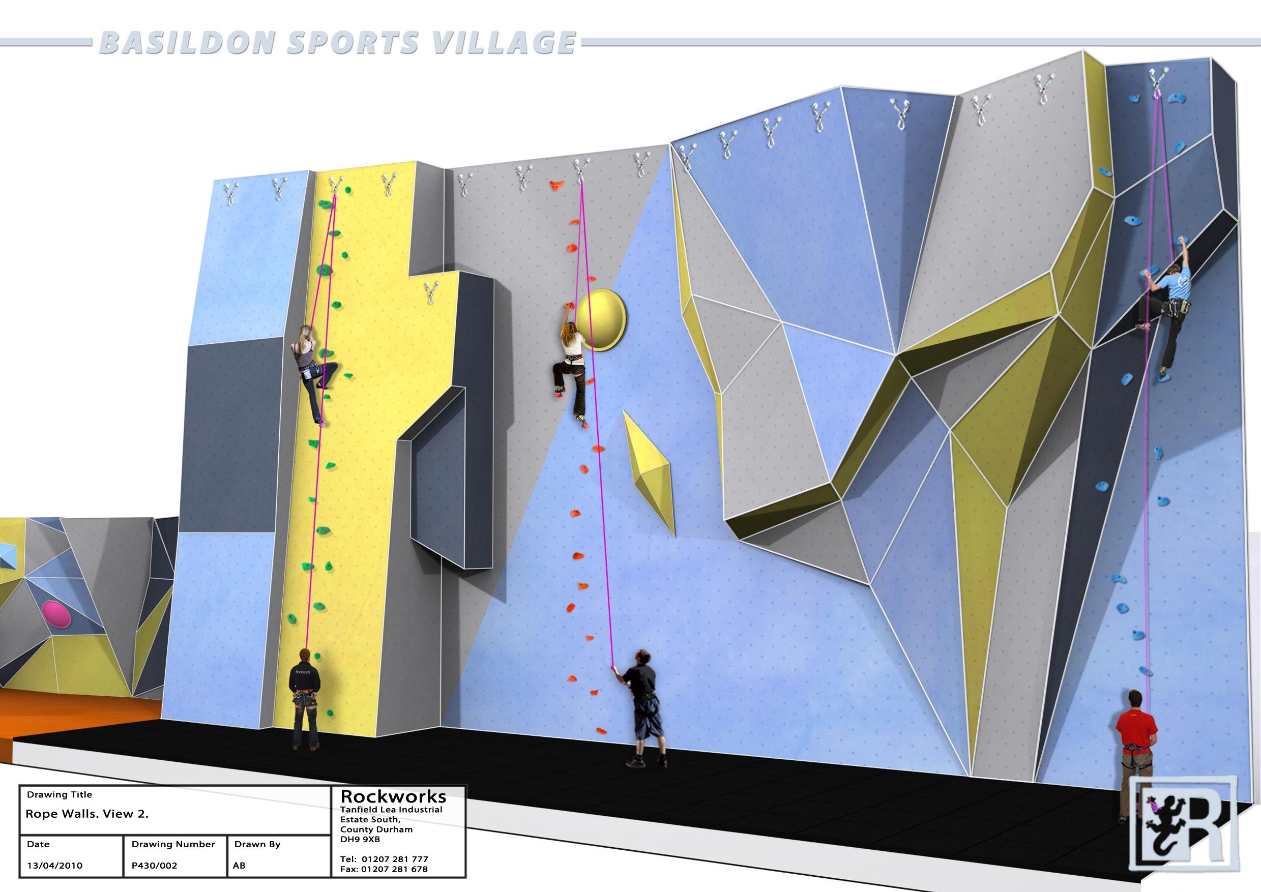 Basildon Council Basildon Sporting Village Bring On The Wall